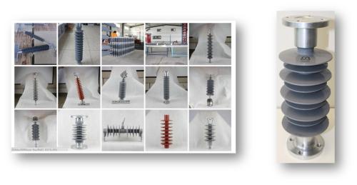 Kompositt Støtteisolatorer 24 kV – 145 kV