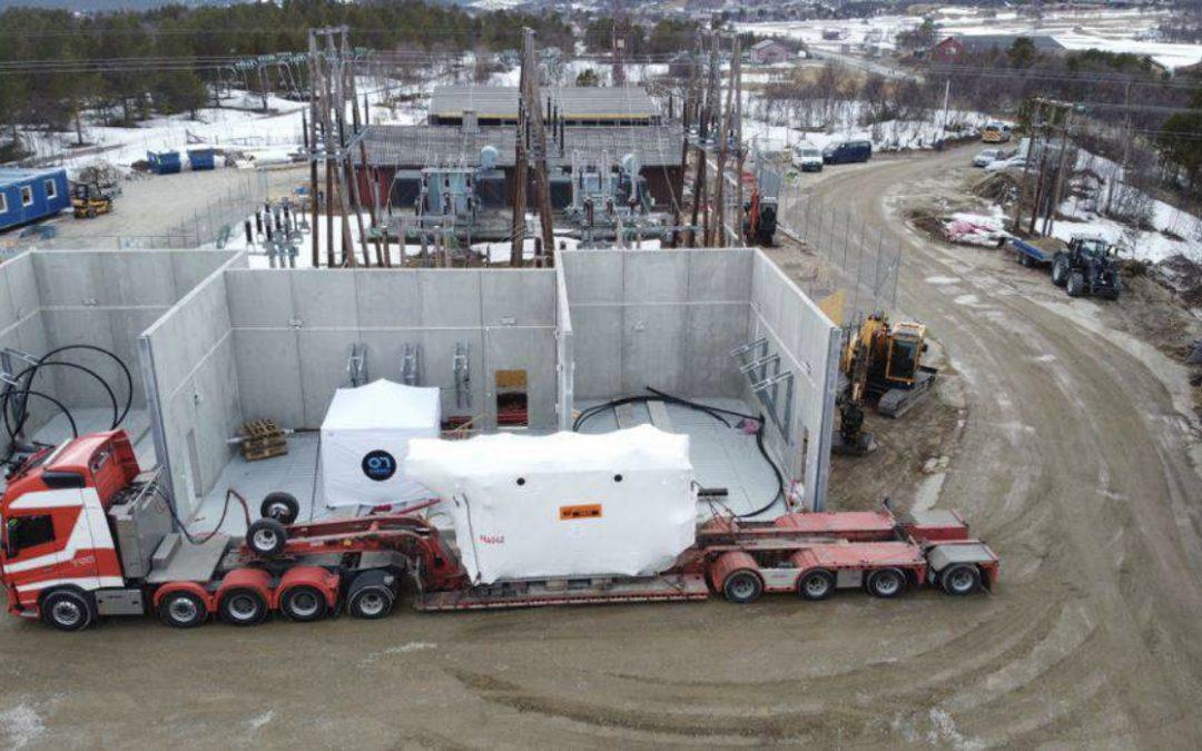 Krafttransformatorer til Røros transformatorstasjon